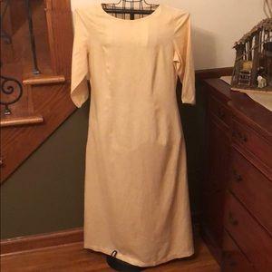 Vintage Laura Ashley Linen Dress 14